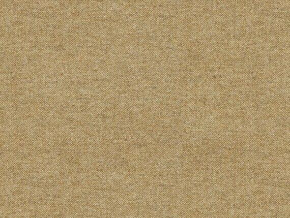 twill mustard wool, herringbone upholstery fabric