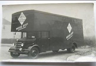 1939 Old Wood Brothers Furniture Van
