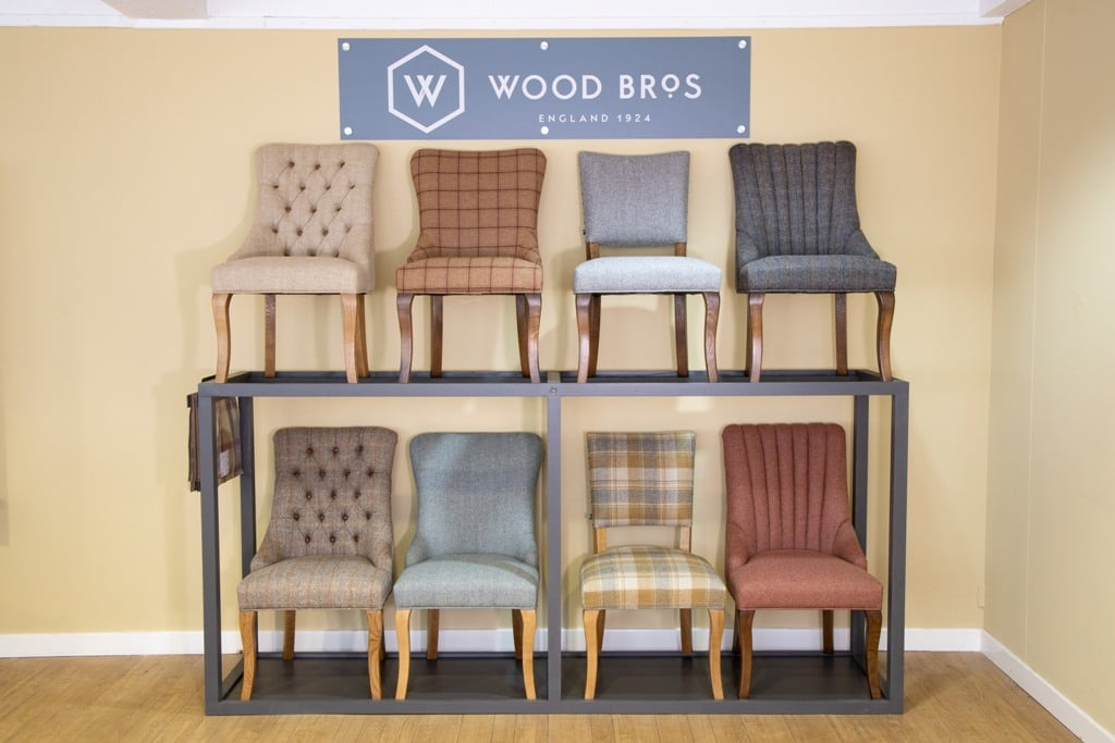 Wood Bros Upholstered Dining Chair Gallery