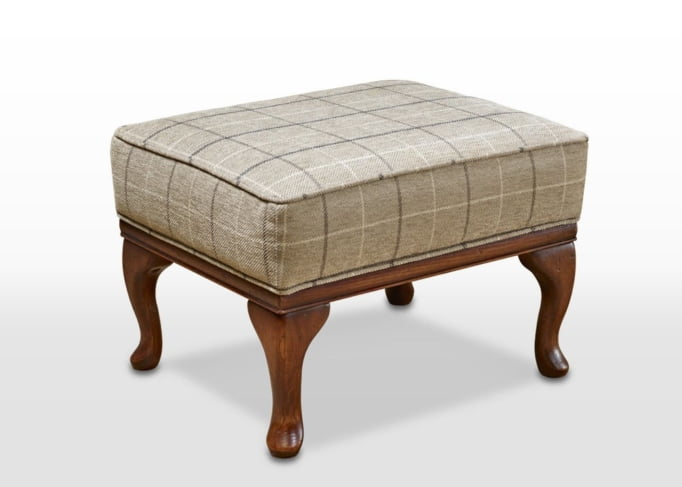 sofa collection footstool, wentworth linen