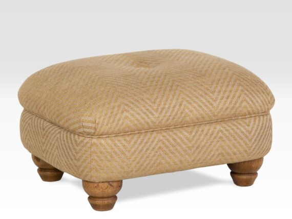 designer accent footstool, designer footstool, small designer footstool