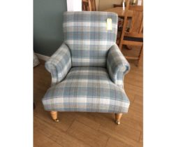 Wood bros Arncliffe armchair to clear