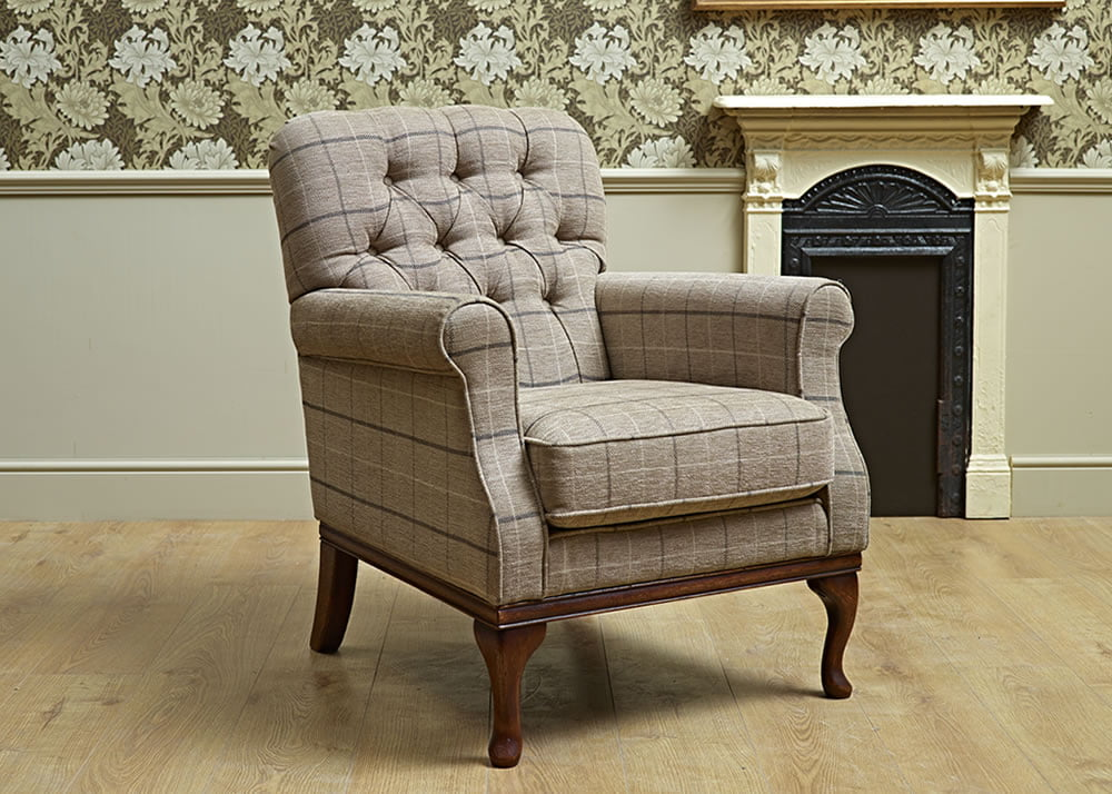 Wood Bros Armchair Head On Image