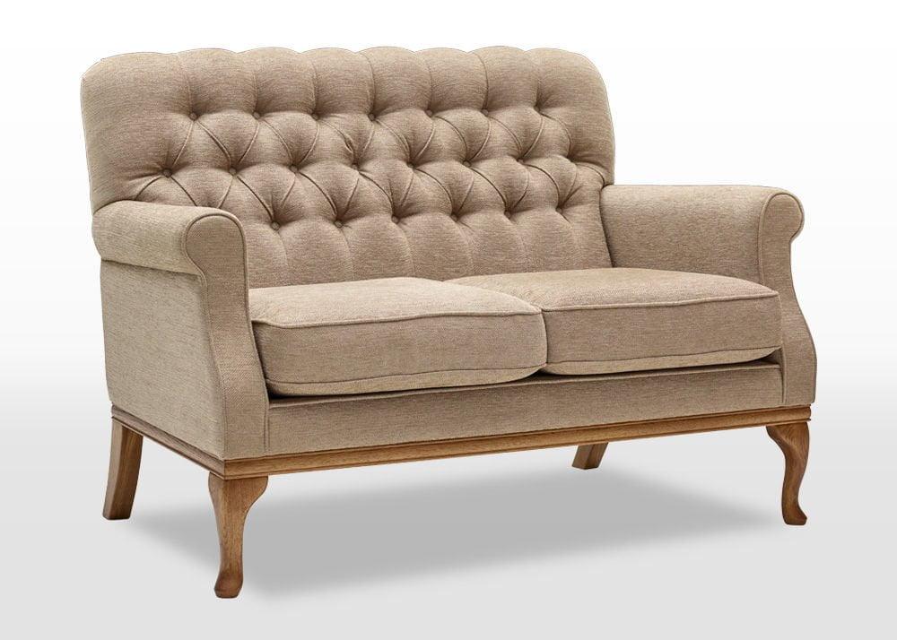 burnham compact 2 seater sofa wood bros. Black Bedroom Furniture Sets. Home Design Ideas