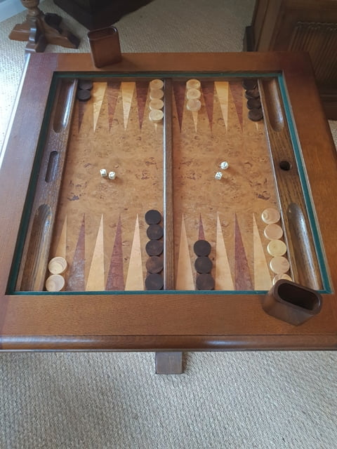 Discover Hidden Treasures Old Charm Games Table Backgammon