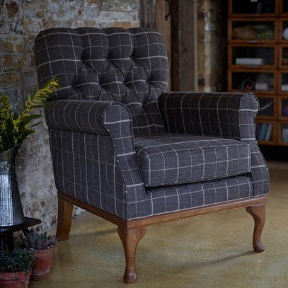 Burnham Armchair - Wood Bro Furniture Upholstery Collection