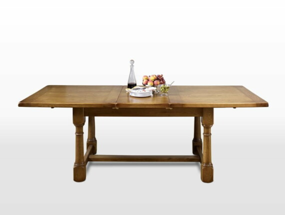 Wood Bros Extending Dining Table Angled Image
