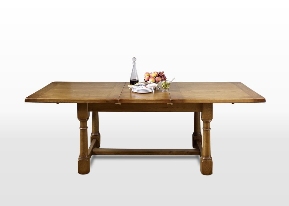 Chatsworth extending dining table wood bros - Extending wood dining table ...