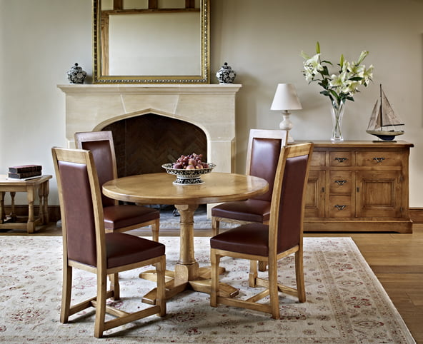 CT2874 Chatsworth Round Dining Complete Collection FT3 11