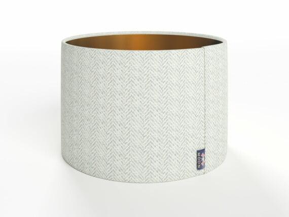 Abraham Moon Aaran Grey Lamp Shade - Copper