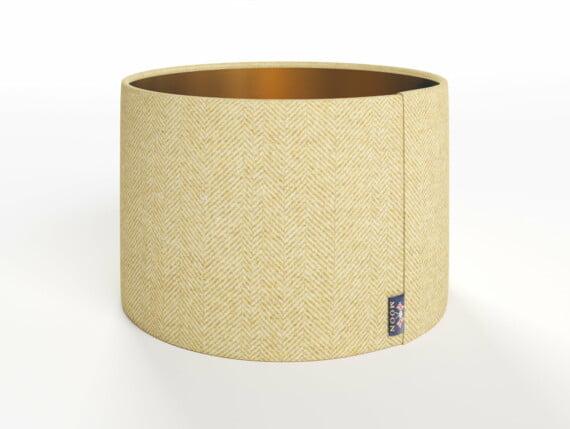 Abraham Moon Arran Yellow Lamp Shade - Copper