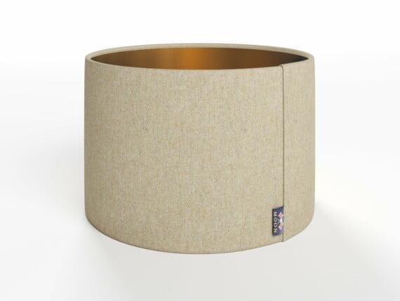 Abraham Moon Fleck Natural Lamp Shade - Copper