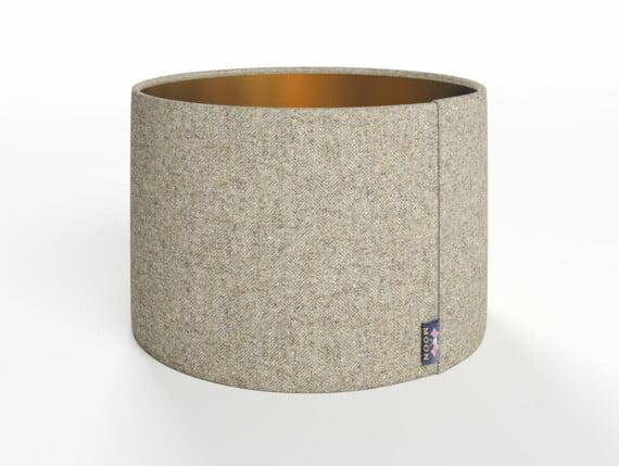 Abraham Moon Fleck Mushroom Lamp Shade - Copper