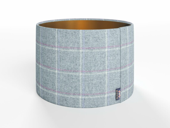 Abraham Moon Elgin Grey Lamp Shade - Copper