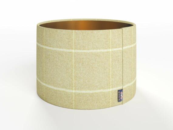 Abraham Moon Kelso Natural Lamp Shade - Copper