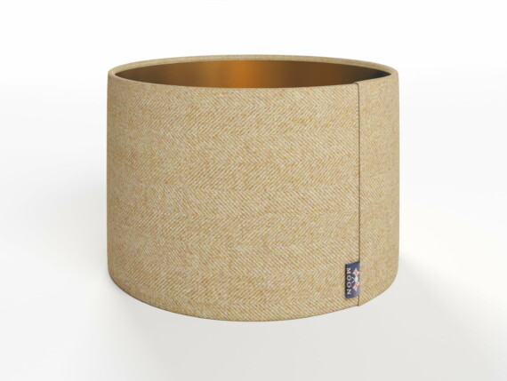 Abraham Moon Little Moreton Hall Gold Lamp Shade - Copper