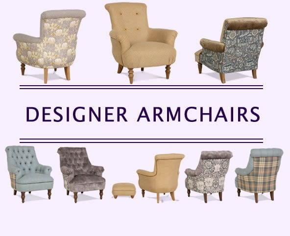 Designer Armchairs, shop designer armchairs