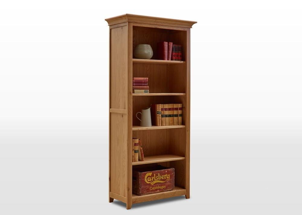 frame bookcase angled