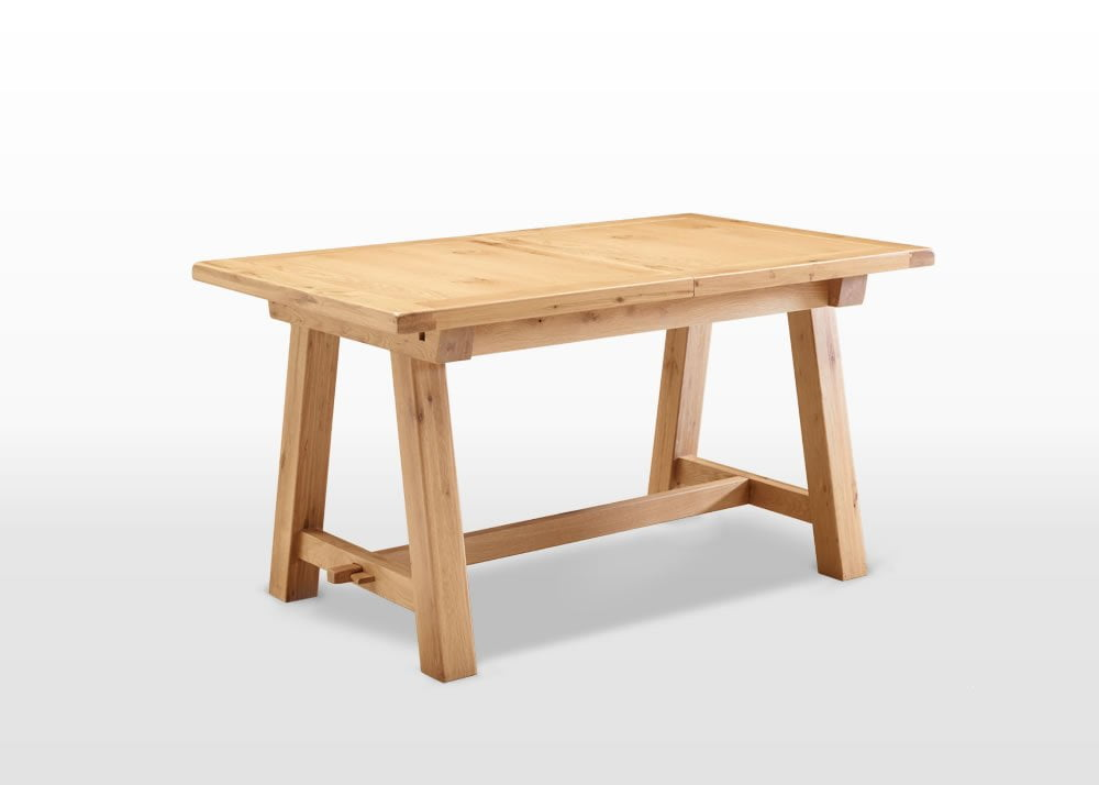 Frame 5ft extending dining table wood bros for Dining table frame