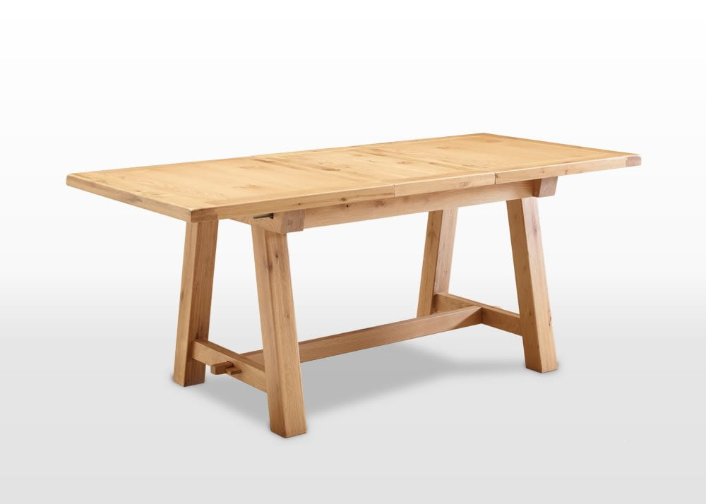 Frame 6ft extending dining table wood bros for Dining table frame