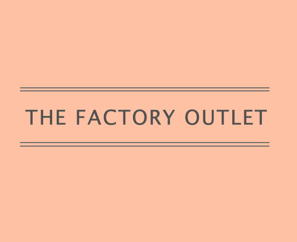 factory outlet shop