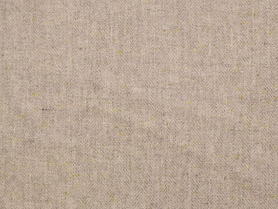 Fleck ivory Moon Furnishing pure wool fabric