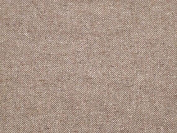 Fleck Ivory Moon Furnishing, pure wool fabric, moon wool fabric, herringbone upholstery fabric