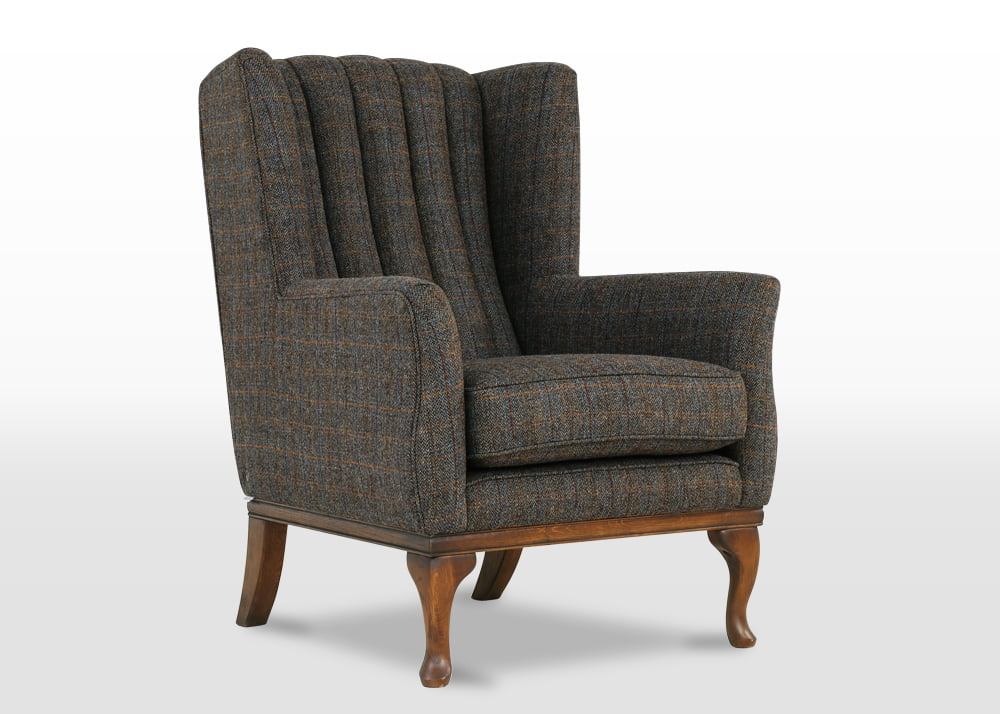 harris tweed armchairs, Harris Tweed armchair, furniture upholstery fabric