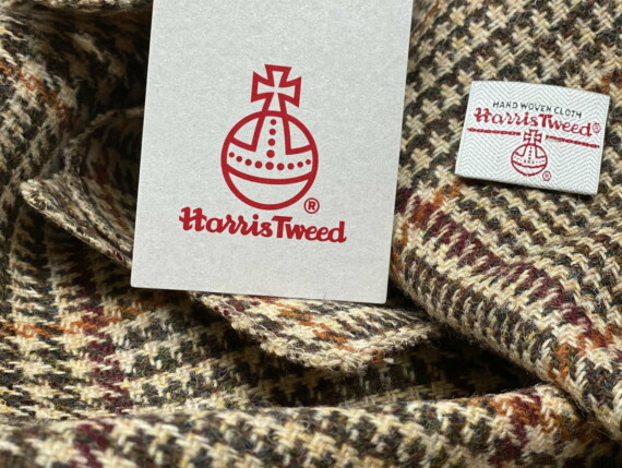 HARRIS TWEED AUTHORITY, HARRIS TWEED LABEL, GENUINE HARRIS TWEED, DOGTOOTH ORIGINAL