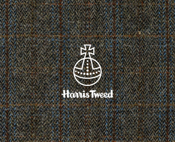Harris Tweed Charcoal, furniture upholstery fabric