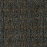 Harris Tweed Charcoal fabric, herringbone upholstery fabric
