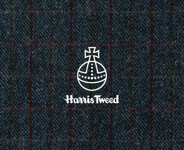 Harris Tweed Denim, furniture upholstery fabric