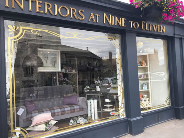 Interiors at Nine to Eleven visit