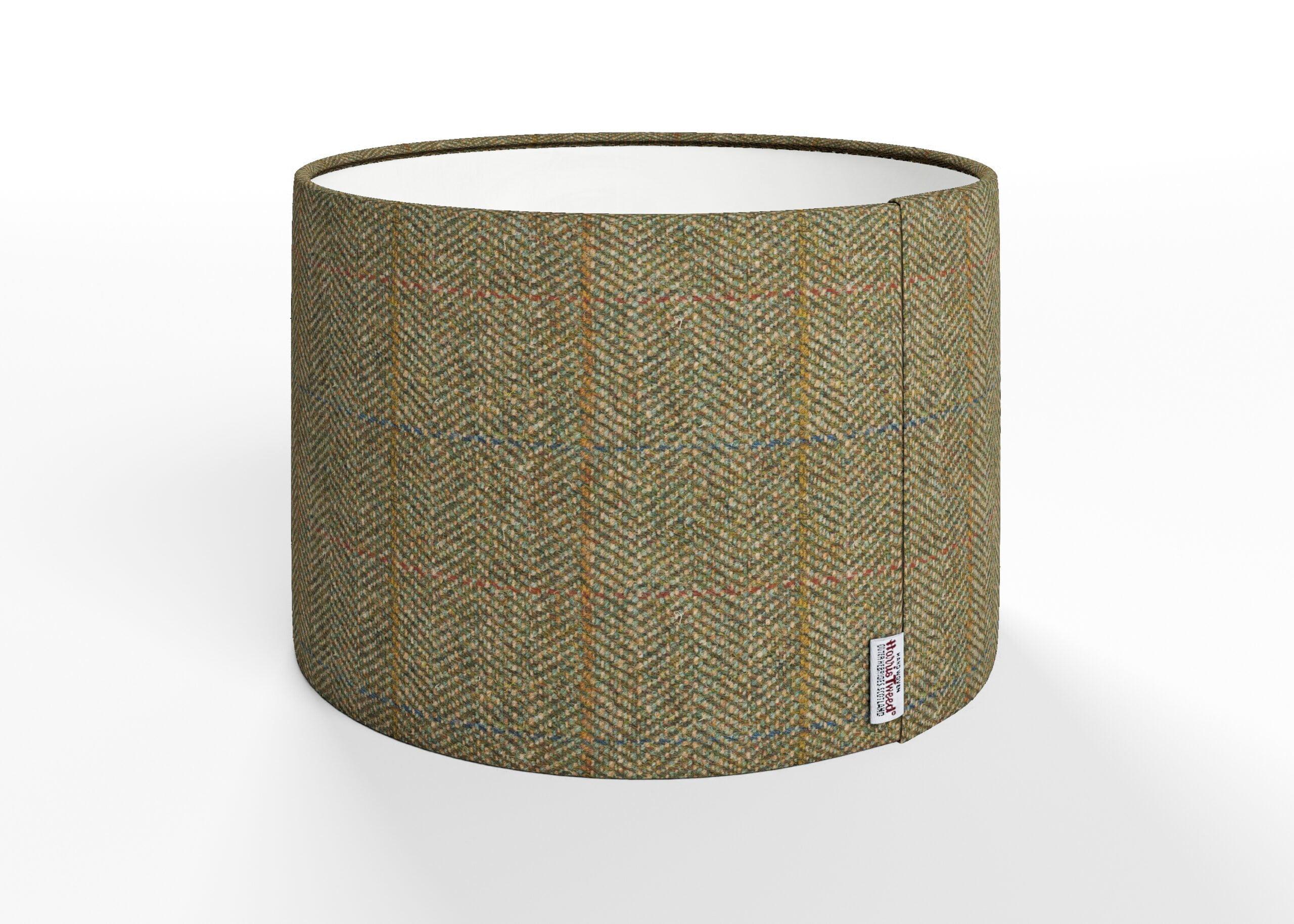 harris tweed lampshade