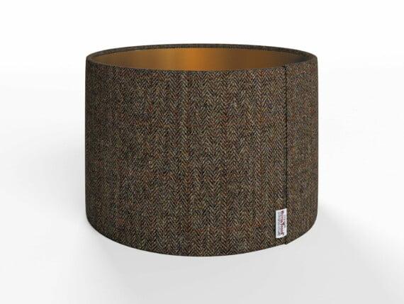 Herringbone Forest Lamp Shade - Copper