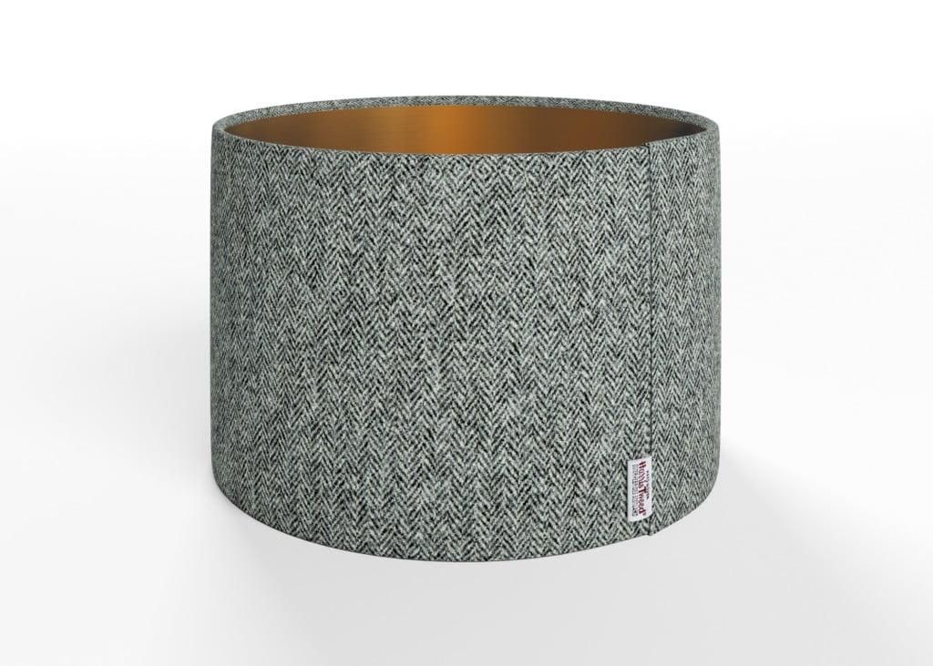 Herringbone Slate Lamp Shade - Copper