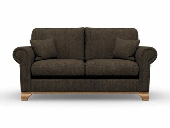 Harris Tweed Herringbone Forest, Lavenham Medium Sofa in Harris Tweed