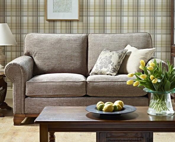 LAV260 LT FB FHAN A FT2 Lavenham Medium Sofa Formal Plinth Lifestyle 1