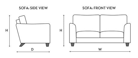large sofa template