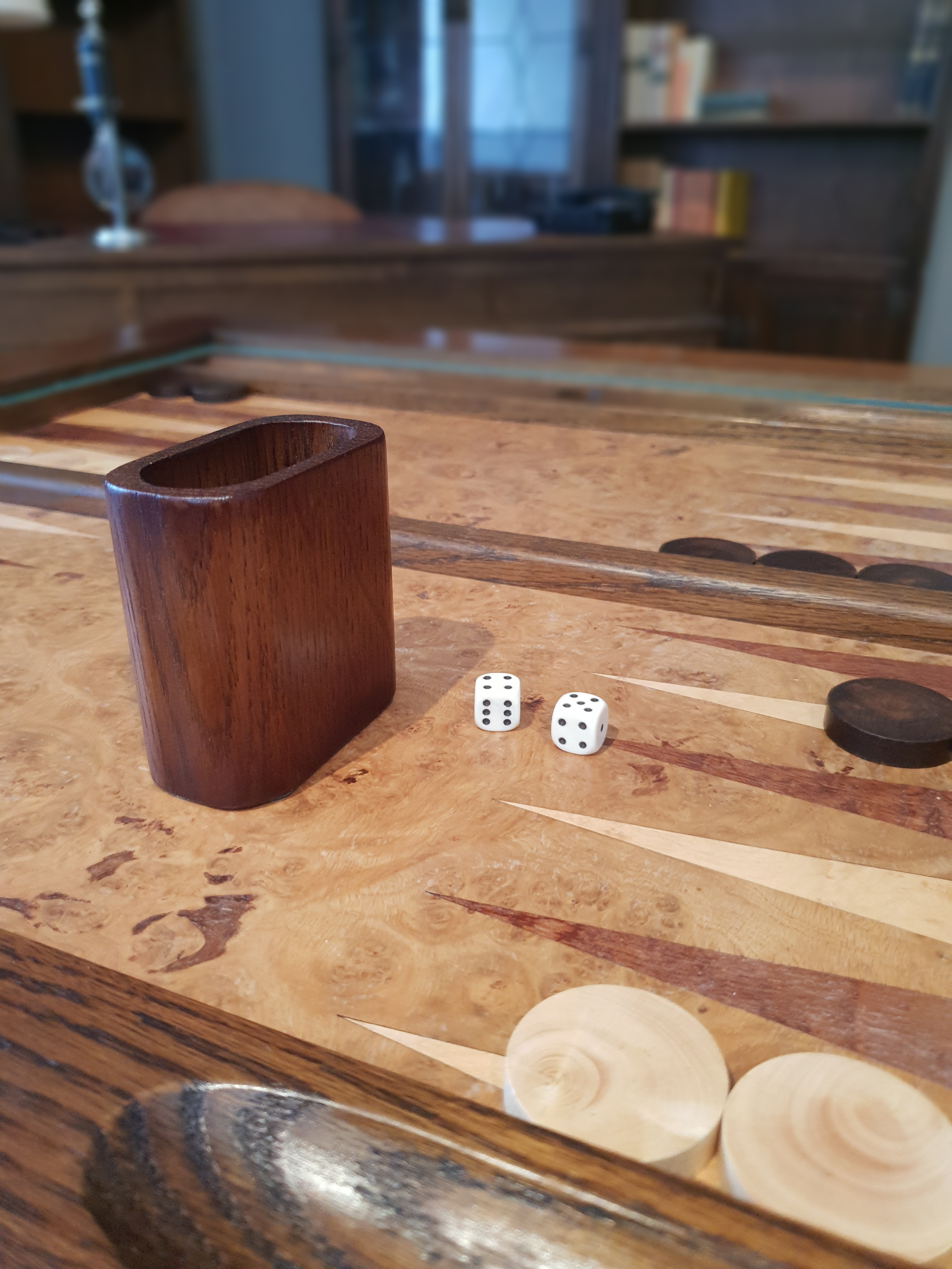Discover Hidden Treasures Wood Bros Old Charm Games Table Backgammon