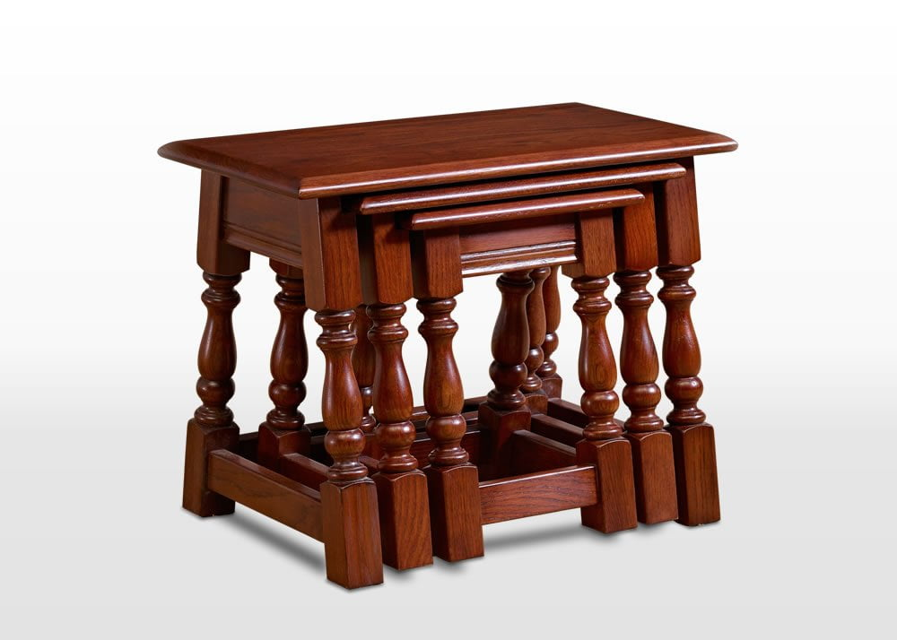 Old Charm Nest Of Tables Wood Bros