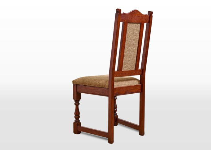 Old Charm Dining Chair in Chestnut Traditional Image