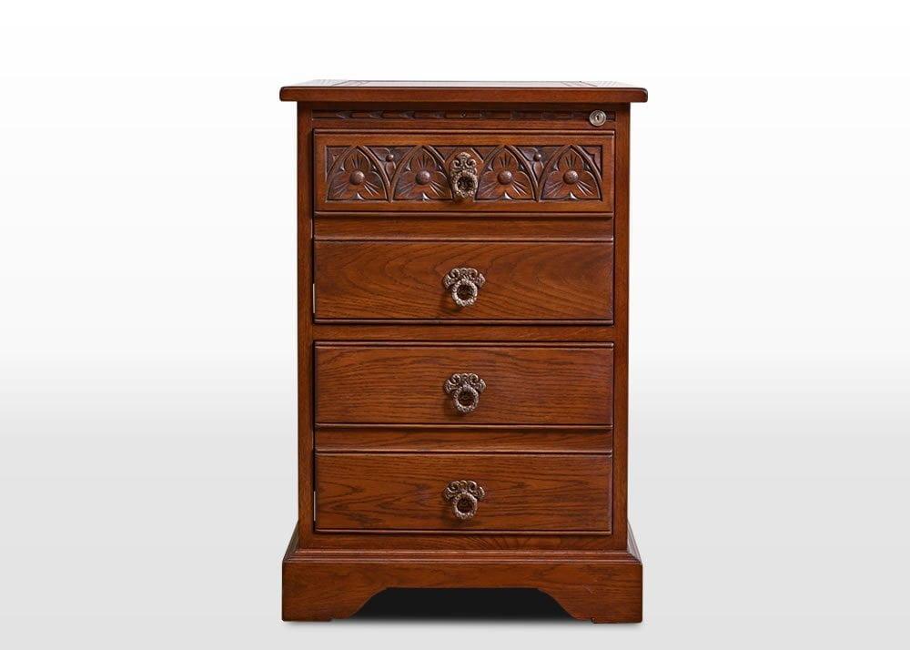 British Design Old Charm Filing Cabinet