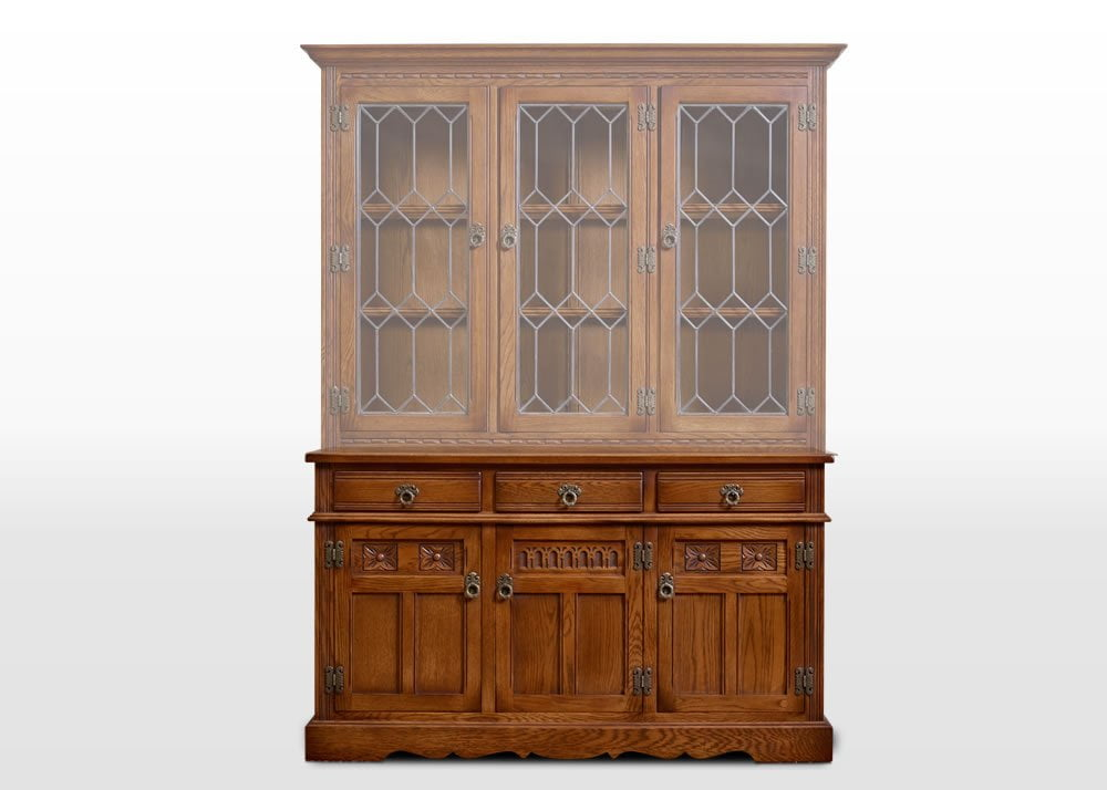 Old Charm Sideboard in Light Oak Traditional Image