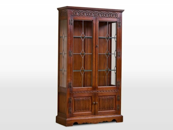 Old Charm Furniture Collection Old Charm Display Cabinet