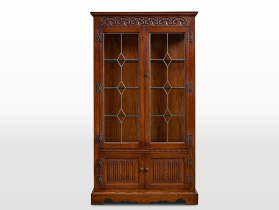 British Design Old Charm Display Cabinet