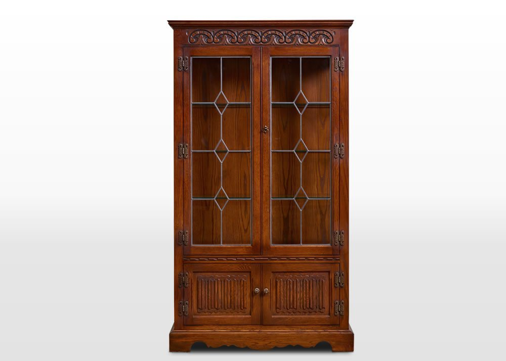 Old Charm Display Cabinet Wood Bros