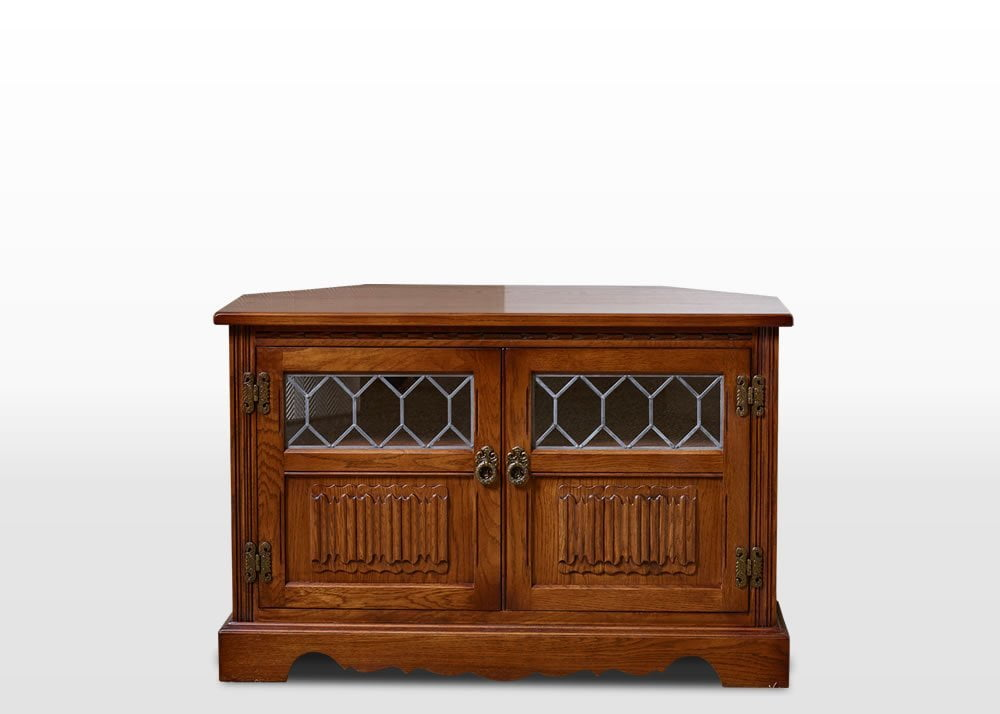 Old Charm Corner Tv Cabinet Wood Bros