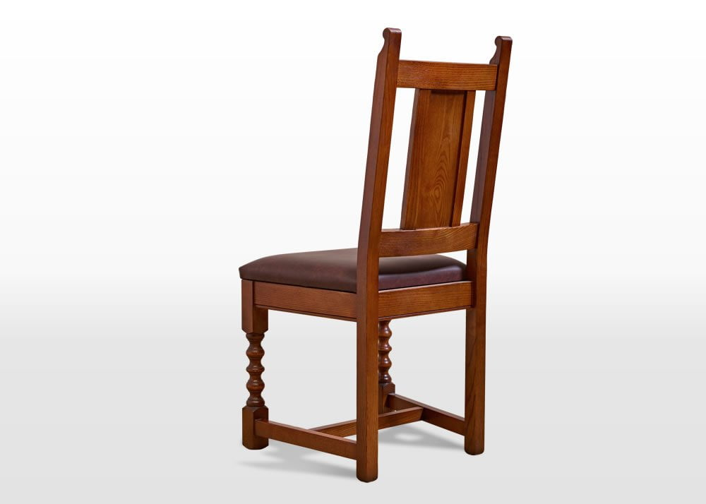 Old Charm Dining Chair In Light Oak Traditional Image