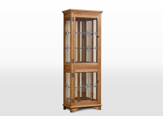 Old Charm Display Cabinet in Vintage Traditional Image